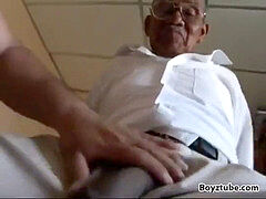 elder black grandpa plow milky fatty