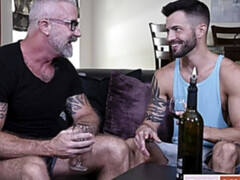 Fully clothed gym fuck with JP Philips and Phillip Logan