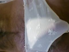 Wetting wifes panties