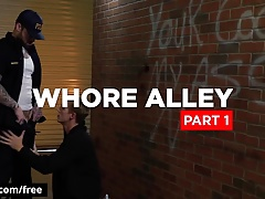 Bromo - Jordan Levine with Zane Anders at Whore Alley Part 1