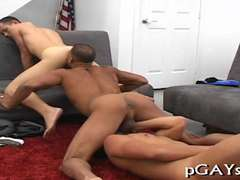 Gays go mad in a group sex play 2
