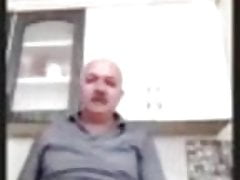 turkish grandpa play cock