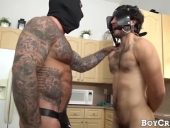 Stud Dante Drackis dominated by super hung intruder