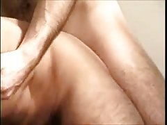 Lustful bears creamy fuck