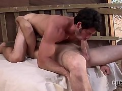 excited enjoyment In The Barn With Leo Giamani And Park Wiley.mp4