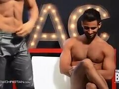Diego Sans and Pablo Hernandez take up the naked challenge