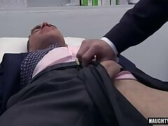 Big dick doctor anal sex with cumshot