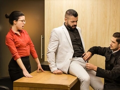 Office anal with Dato Foland and Victor D'Angelo