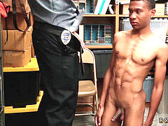 vids of cops lollipops and young gay police men movie Young, ebony