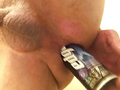 Shaving cream in my ass