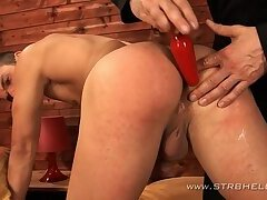 Julius Sekac spanked and serviced