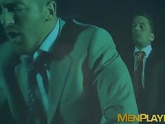 Classy Bruno Max and Lukas Daken analfuck in adult cinema