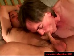 Teens miro and patric bone bare