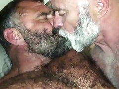 Samuel's Favorite: Bearded Hairy Mature AWESOME DEEP KISSING