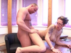 Bro talks Step Sister to Fuck on Family Turn