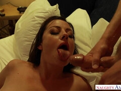 Sovereign Syre hot babe in stockings porn clip