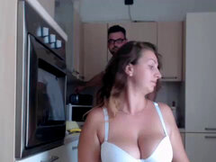 obese doll gets pounded in the kitchen