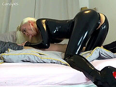 spandex Latexfick Extrem