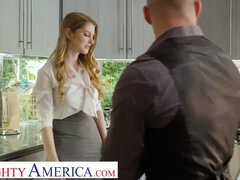 American Real Estate agent Bunny Colby does what it takes to close the deal - Blowjob