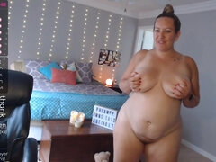 Chubby housewife crazy webcam show
