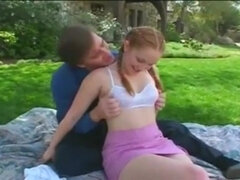 Shagging The Babysitter Redhead Teen Sex
