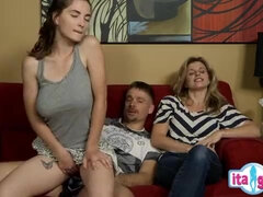 Stepdad and Daughter Filthy Porn Video
