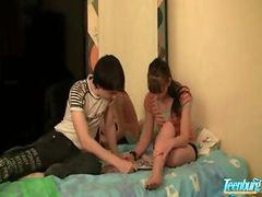 Creampie Taboo Sex Of Step Brother And furthermore Immature Non-professional teenage Couple