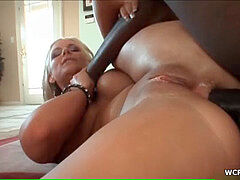 Phoenix Marie gets her snatch and ass plowed by a bigb lack prick