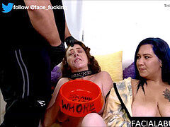 Real sisters facefucked and degraded to extreme
