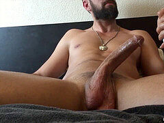 A Pretty lady idolizing A large Curved Dick And Gets A Huge Facial