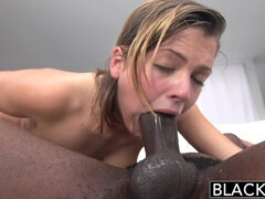 Blacked Keisha Grey First Big Black Male Stick - ANALDIN