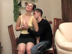 milf seduced stud