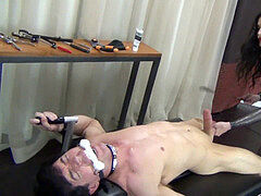 Lose your nut the female dom way! - castration tease after hand-job