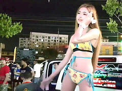 Thai teen giant funbag Dancing For Parttime Job [?????????????] #2
