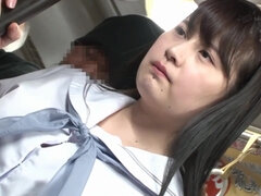JAV - oppai Japanese school girl on a public train? groped and fucked