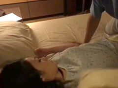 chinese step-brother and sister share bed