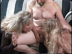 Hot Matures Tag-team Smoking Blo