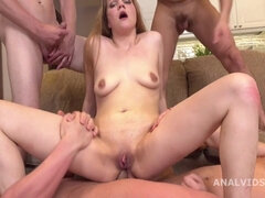 First Ever Double Anal Sex Penetration