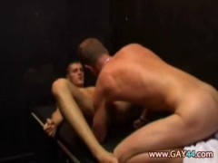 Non-professional Gay Sex In The Sauna