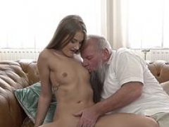 Teenage spermed by granddad
