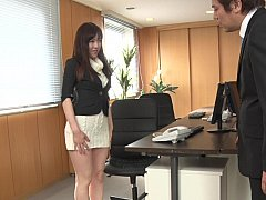 Japanese secretary sensitive pussy