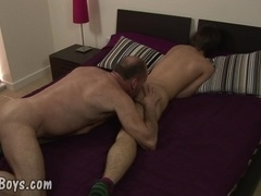 MenVsBoys - Balding gay slams the asshole of a cute boy
