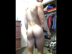 young muscle american chinese strips & wanks