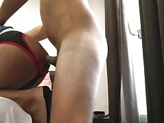I got fucked by hot sexy Spanish guy