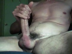 High-powered dick wanking