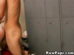Horny Guys Goes Bareback Anal Fucking In Gym