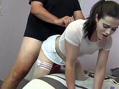 Trap Nyxi Leon smashed hard in chastity