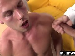 Big dick daddy casting with cumshot
