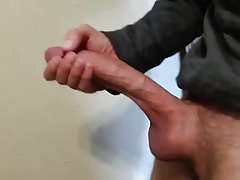 Jerking my monster!